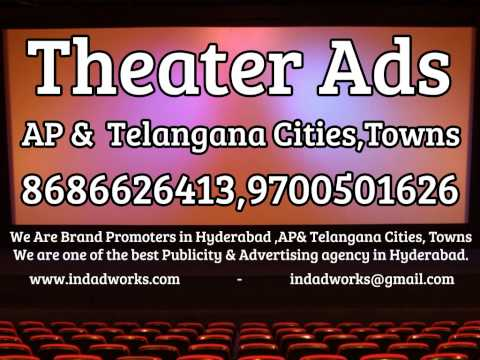 best Publicity & Advertising agency For Movie Theater Ads In Andhra pradesh and telangana