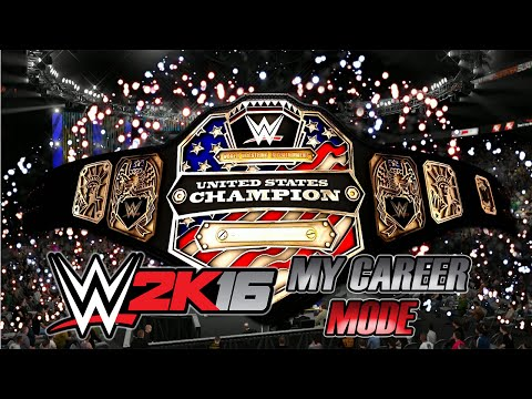 WWE 2K16 - My Career - #247 - NARCYZO VS CENA - UNITED STATES CHAMPIONSHIP