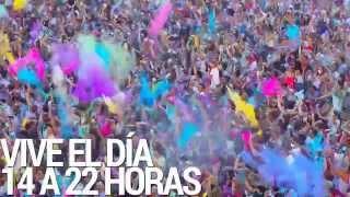 Holi Festival Of Colours Santiago de Chile
