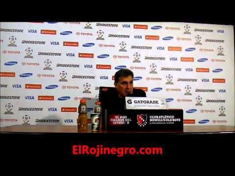 Copa Libertadores 2013, Semifinal ida, Newell's 2 - Mineiro 0, Gerardo Martino
