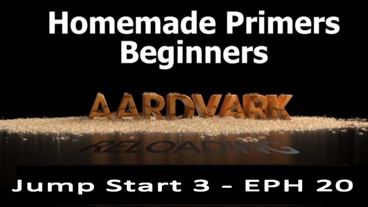 Reloading Primers for Beginners - Jump Start 3