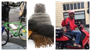 Bike Carriers How To Stay Warm While Making Deliveries For UberEats Or Postmates