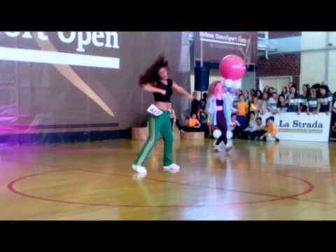 """Hellenic Dance Sport Open 2016, 1'st place """"Serena Staikopoulou"""""""