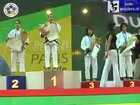 Judo 2009 Paris: Medal Ceremony [-52kg].