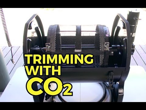 Best Cannabis Hemp Trimming Machine / Method with CO2 - 1 lb per minute - Tutorial 6.