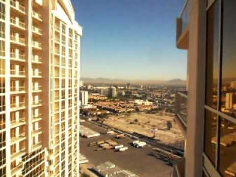 Mgm Signature 33rd Floor Balcony View Las Vegas Nevada