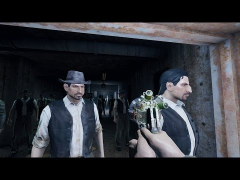 Fallout 4: 200 Triggermen VS Lorenzo's Artifact Gun