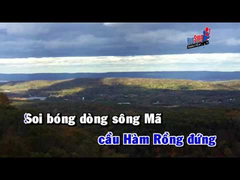 Chao Song Ma Anh Hung karaoke Hd