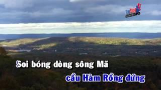 Chao Song Ma Anh Hung karaoke Hd