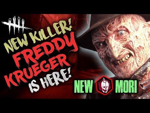 NEW KILLER in DBD! FREDDY KRUEGER - Dead by Daylight #100 with HybridPanda