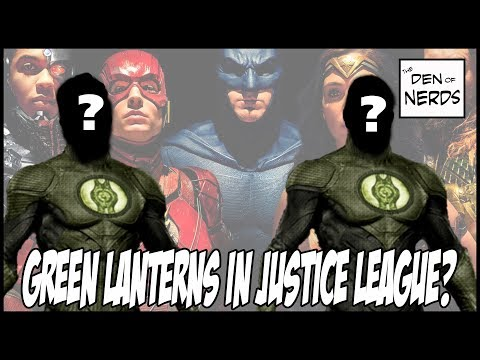Green Lanterns in Justice League Movie Confirmed? Not One, But Two Corps Members Showing Up?