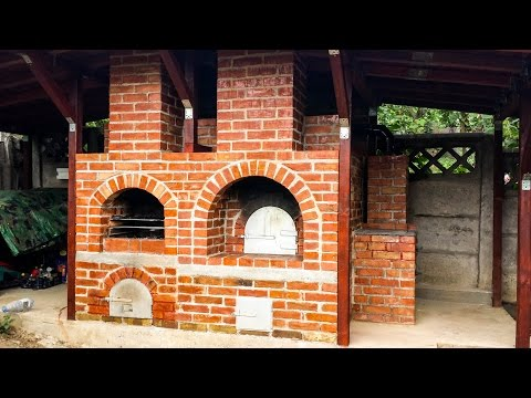 DIY Brick Oven Construction