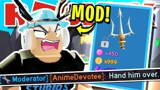 ROBLOX BUBBLEGUM SIMULATOR MODERATOR SCAMS MY RAREST PET!! [UPDATE 22] (Atlantis, Dunkle Haustiere & mehr)