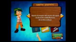 El Chavo del 8 Wii Jugando dos jugadores gameplay chavo del ocho español xD