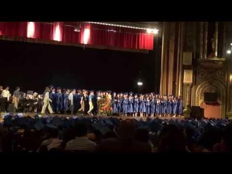 Stuyvesant HS 2015 Senior Graduation day 062515