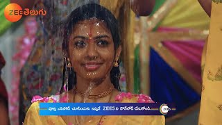 Shyama & Akhil Wedding Preparations - Krishna Tulasi - Zee Telugu