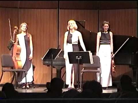 """GERSHWIN BY """"EROICA TRIO"""" - (3 BABES YANK SOME FIERCE GERSHWIN OUT OF OLD WOODEN BOXES) - 1998"""