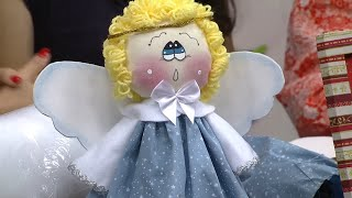 Mulher.com 10/10/2014 - Anjo de natal por Miriam Arteira