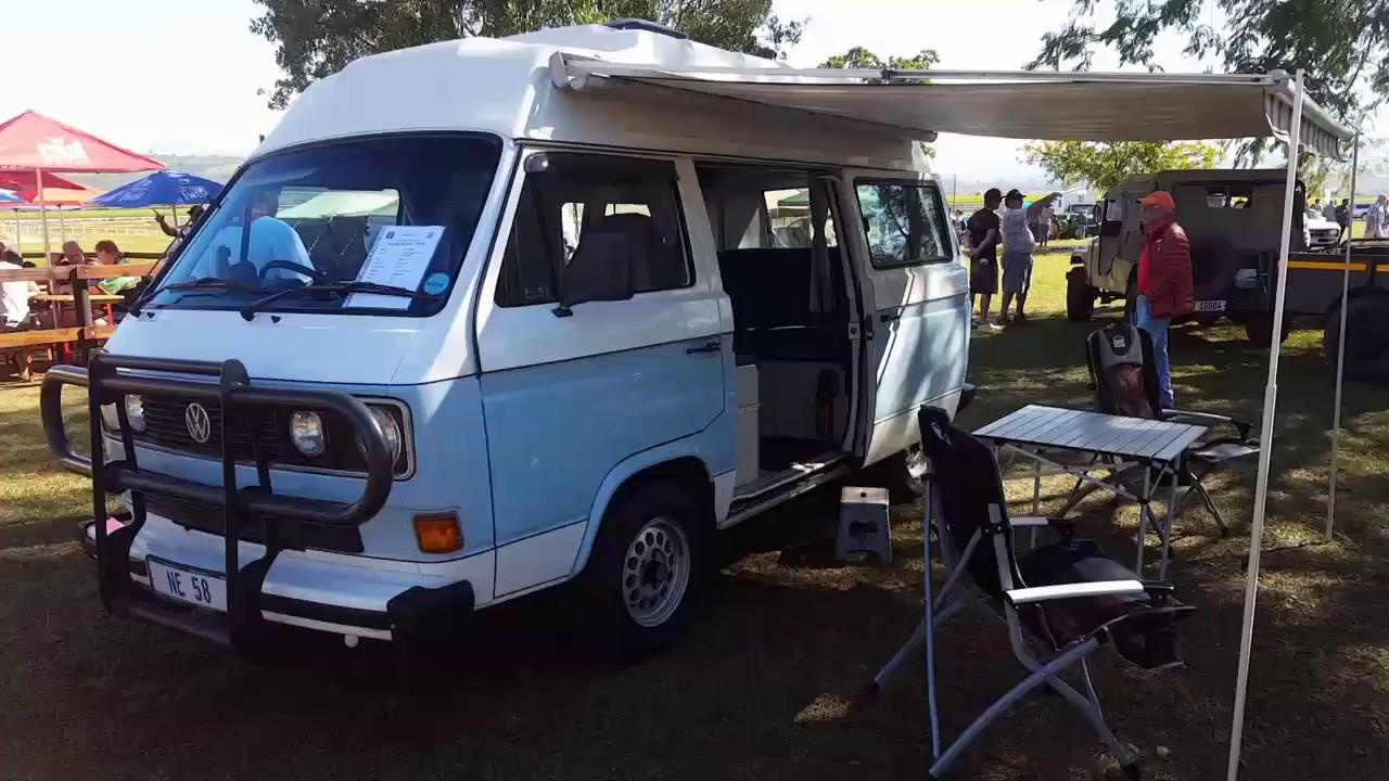 13567d38f3da83 Cars In The Park Pietermaritzburg 2017 - Type 2 T3 VW Microbus Campervan