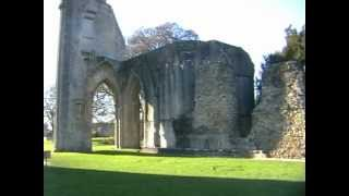 "Glastonbury abbey: ""The New Jerusalem""."
