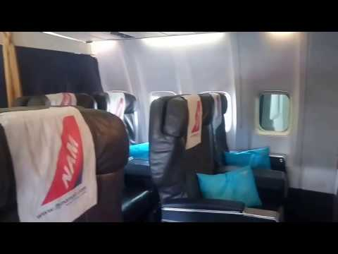 Pesawat Nam air Bisnis Class