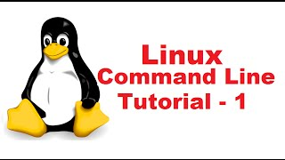 Linux Command Line Tutorial For Beginners 1 - Introduction