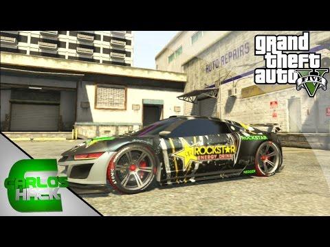 ROCKSTAR ENERGY DRINK! - TUNEADO SECRETO GTA V - MOD PINTURA OCULTA GTA 5 - Hack Grand Theft Auto V