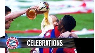 FC Bayern Title Celebrations 2014