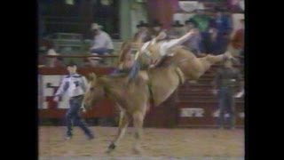 Bareback Riding - 1984 NFR Rodeo Go Round Highlights and 10th Round