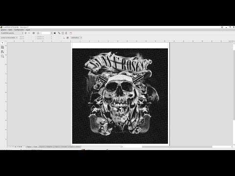 Separação de Cores Corel Draw x7 POLICROMIA Serigrafia Silk Screen