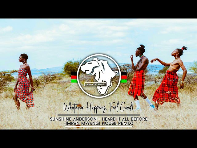 Sunshine Anderson - Heard It All Before (Imran Mwangi Bootleg House Remix)
