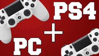 How To Connect A PS4 Controller To PC (Fastest+Easiest Way) 2017