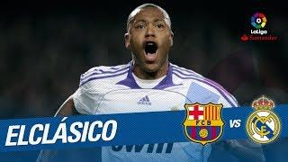 ElClásico - Resumen de FC Barcelona vs Real Madrid (0-1) 2007/2008