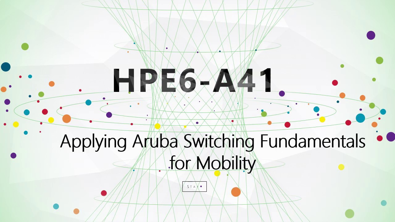 CertTree HPE6-A41 dumps, HPE exam HPE6-A41 study guide