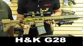 Checking out the new Elite Force HK G28 Airsoft DMR