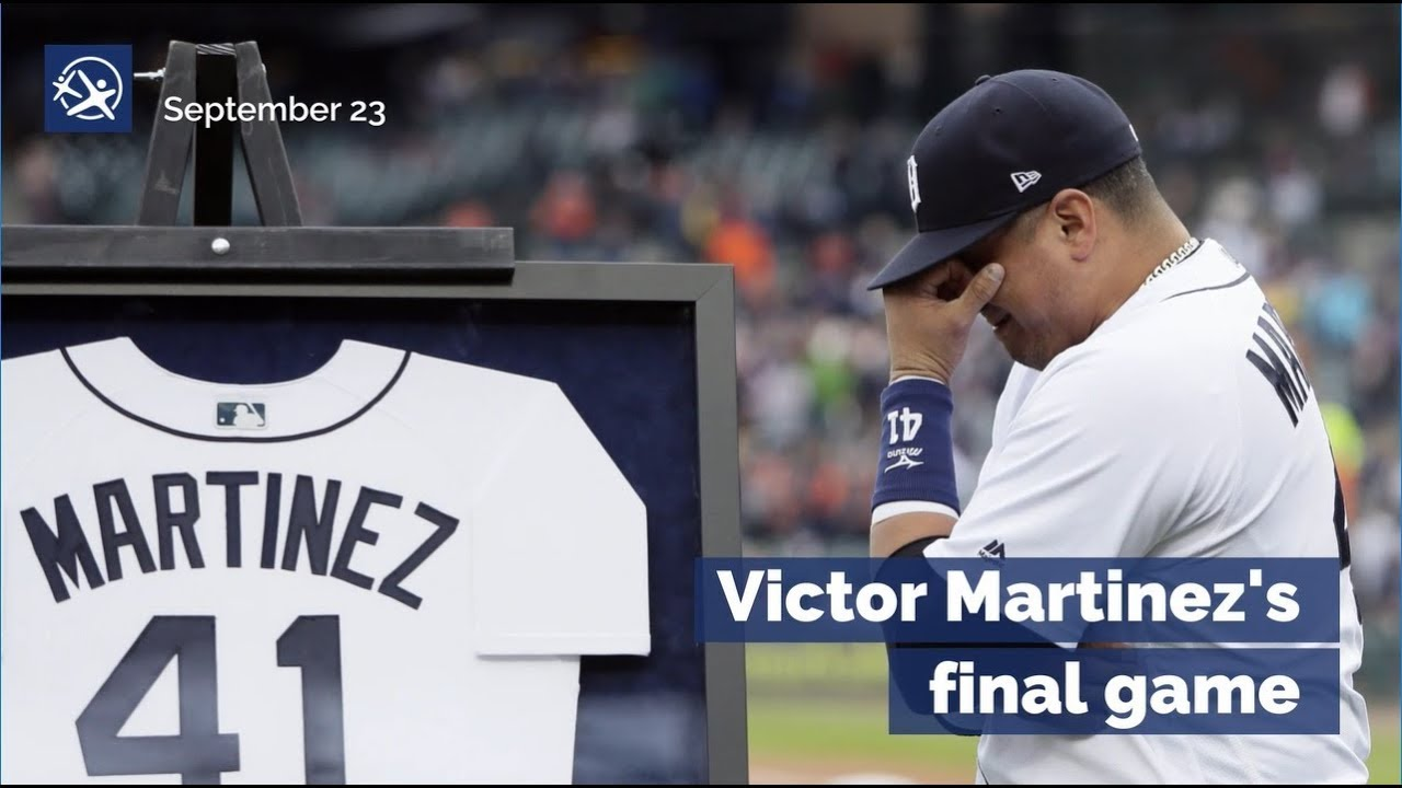 Victor Martinez Final Game