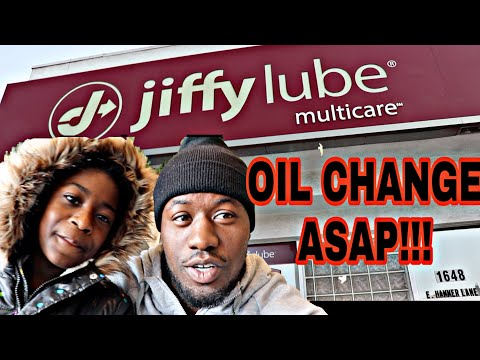 JIFFY LUBE GOTTA GET THIS OIL CHANGE ASAP!! MUST WATCH VLOG!!!