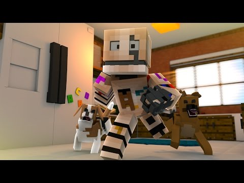 HE HAS PETS?! - Minecraft FIVE NIGHTS AT CANDY'S (Minecraft FNAC MINIGAME)