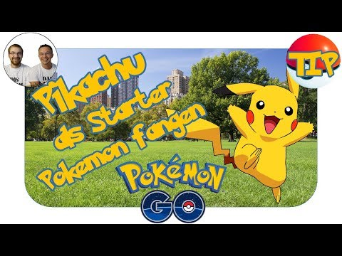 Pokémon Go & Pikachu fangen
