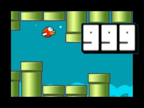 Thumbnail: Flappy Bird - High Score 999! impossible!