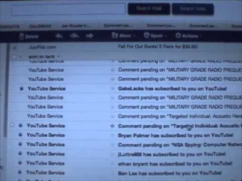 YouTube Negative Comments Flood Yahoo Email