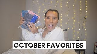 OCTOBER FAVORITES 2018 | FASHION, BEAUTY, LIFESTYLE