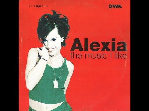 Alexia ‎– The Music I Like extended version