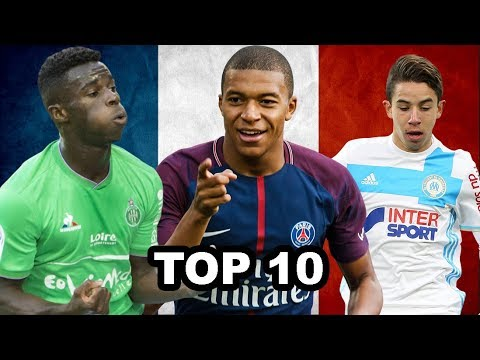 Top 10 Young Players (U21) In France 2017/2018 (HD)