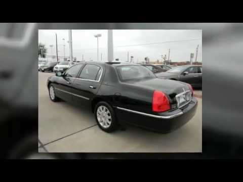 2011 Lincoln Town Car For Sale In Houston Texas Youtube