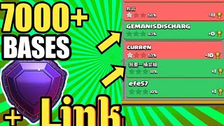 7000+ Trophy Anti-2 Star Legend League Base With Link! | TH13 Ring Base Link | July 2020