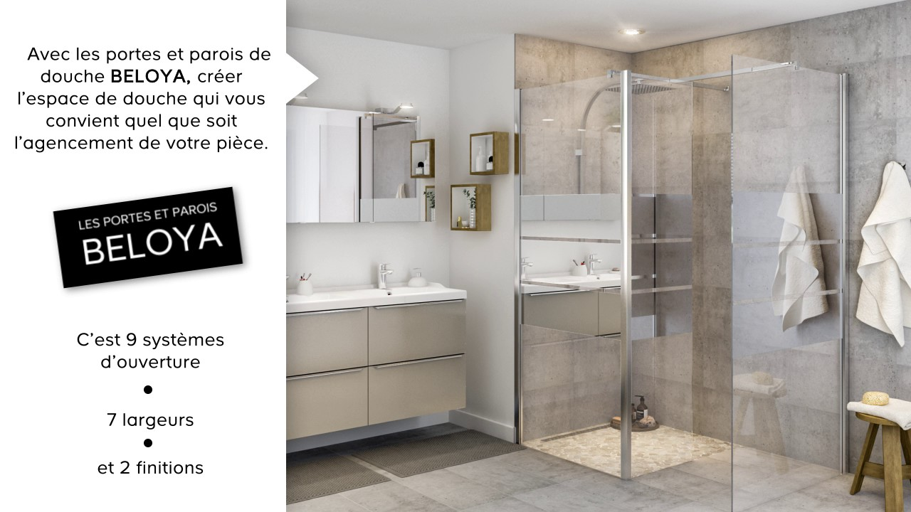 pr sentation salle de bains beloya youtube. Black Bedroom Furniture Sets. Home Design Ideas