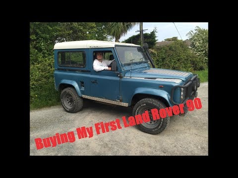 Buying My First Land Rover 90 200 Tdi