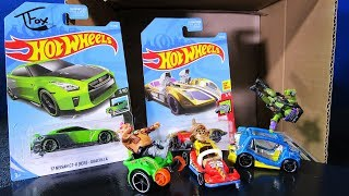 2019 D USA Hot Wheels Case Unboxing Guaczilla Hot Wheels Ride-Ons Demonstration Wheelie Chair