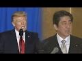 트럼프-아베 오늘 밤 통화…미일동맹ㆍ대북공조 논의할 듯 / 연합뉴스TV (Yonhapnews TV)